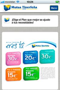 IMG 0101 200x300 Mutua Tinerfeña combina su campaña de Marketing offline con online