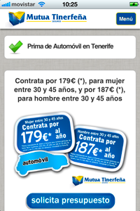 IMG 0105 200x300 Mutua Tinerfeña combina su campaña de Marketing offline con online