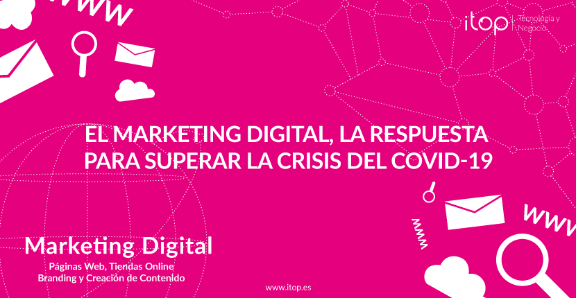 El marketing digital, la respuesta para superar la crisis del COVID-19