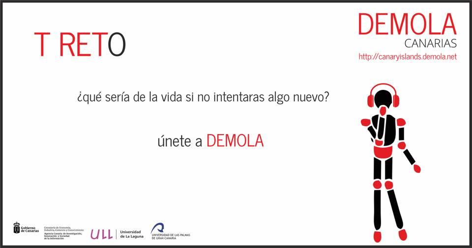 4ª temporada Demola Canarias (primavera 2017) para estudiantes universitarios.