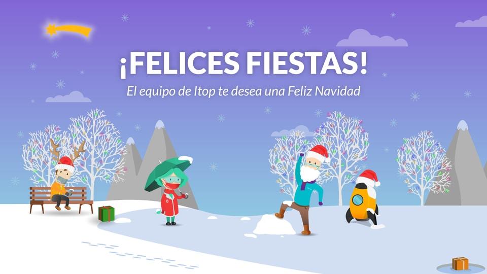 ¡El equipo Itop te desea Feliz Navidad!