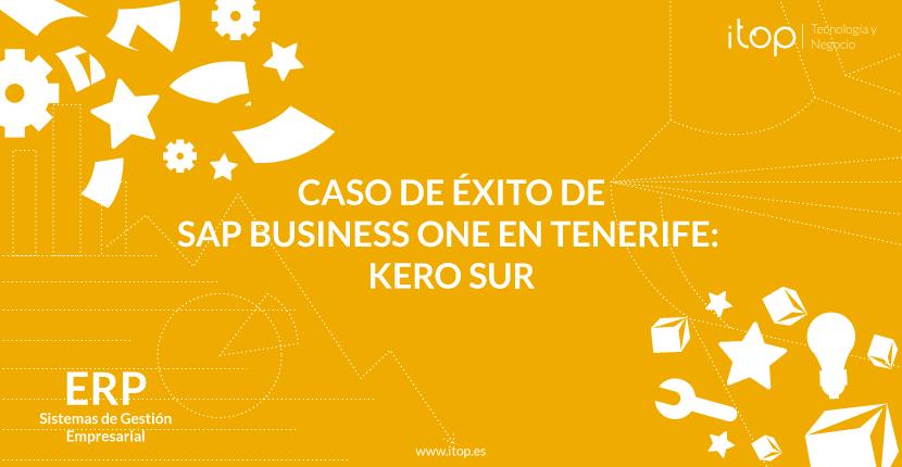 Caso de éxito de SAP Business One en Tenerife (Canarias): Kero Sur