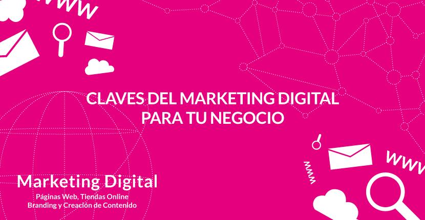 Claves del marketing digital para tu negocio