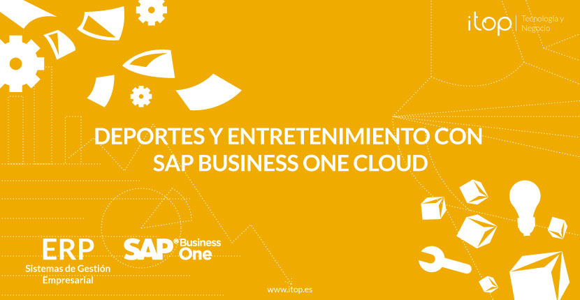 Deportes y entretenimiento con SAP Business One Cloud