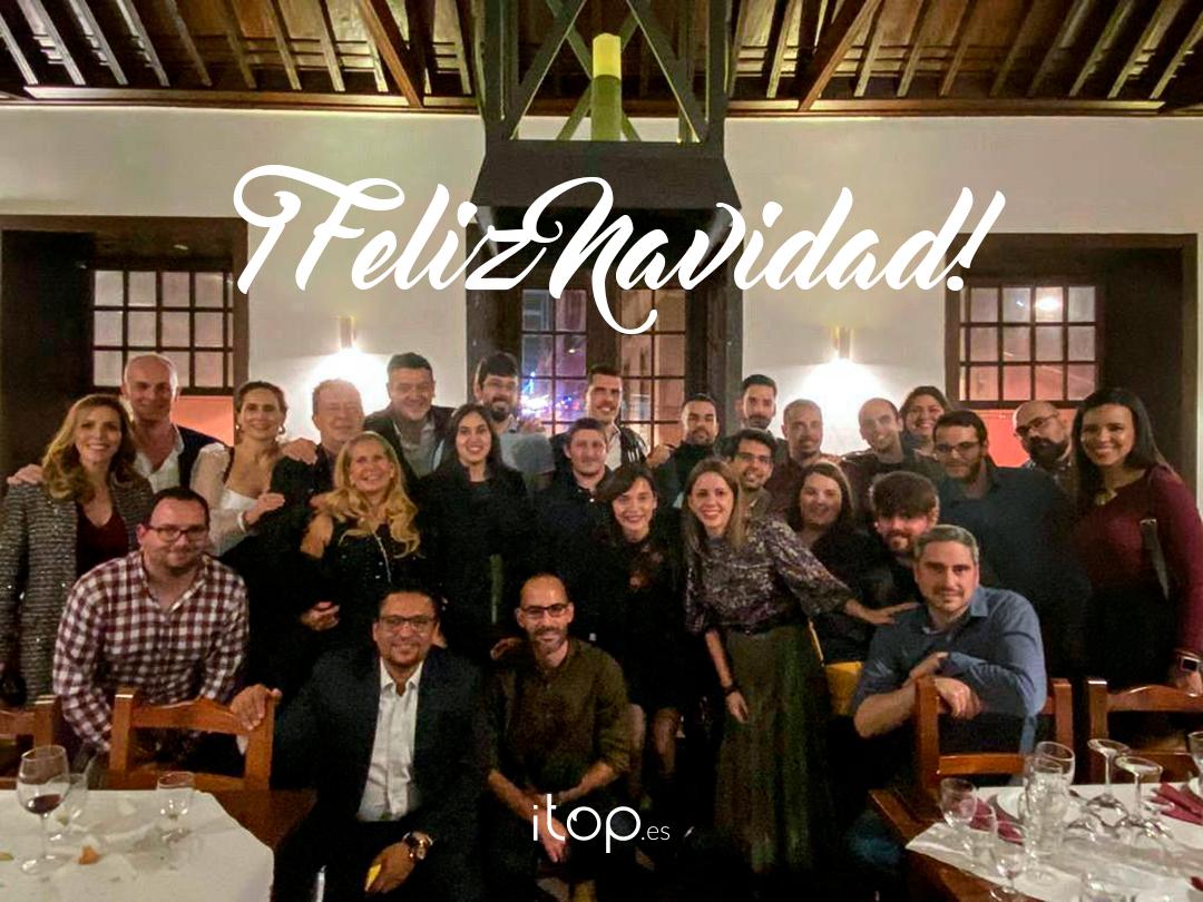 ¡El equipo de Itop te desea una Feliz Navidad!