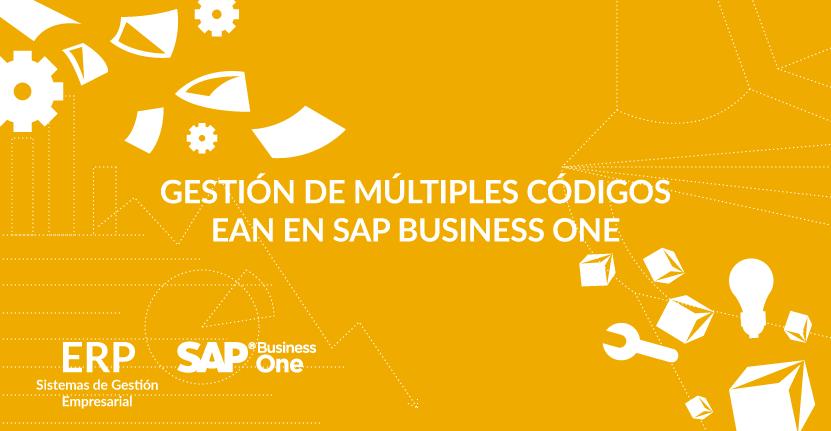 Gestión de múltiples códigos EAN en SAP Business One