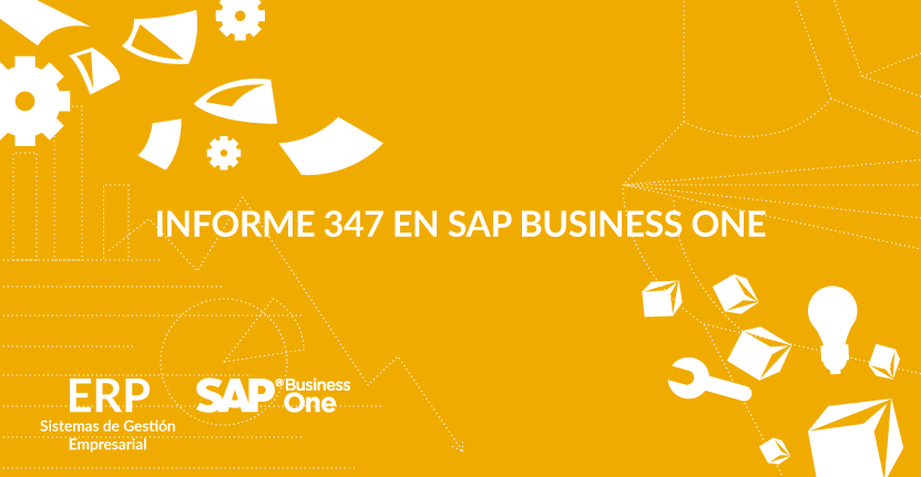 Informe 347 en SAP Business One