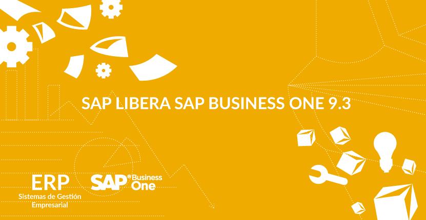 SAP Libera SAP Business One 9.3