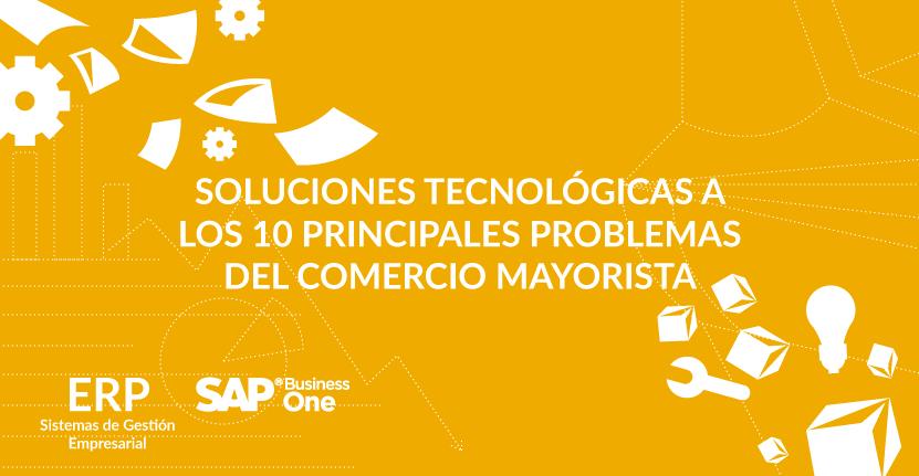 Soluciones tecnológicas a los 10 principales problemas del comercio mayorista