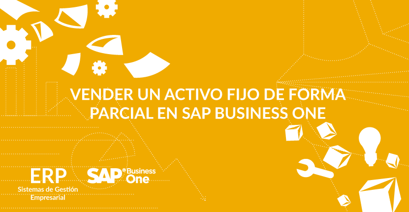 Vender un activo fijo de forma parcial en SAP Business One