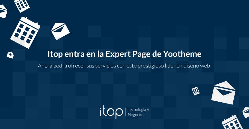 Itop entra en la Expert Page de Yootheme