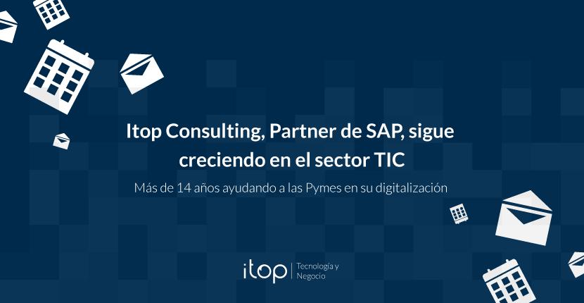Itop Consulting, Partner de SAP, sigue creciendo en el sector TIC