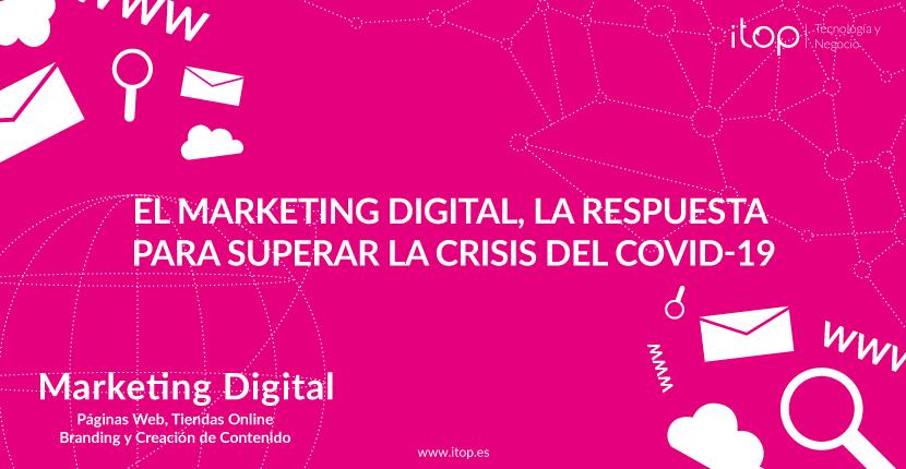 El marketing digital, la respuesta para superar la crisis del COVID-19