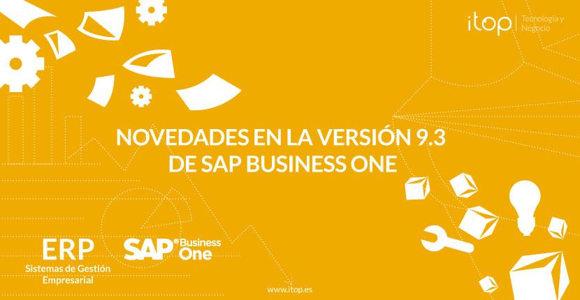 Novedades en la versión 9.3 de SAP Business One