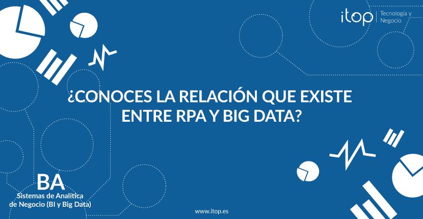 ¿Conoces la relación que existe entre RPA y Big Data?