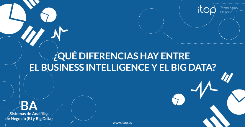 ¿Qué diferencias hay entre el Business Intelligence y el Big Data?