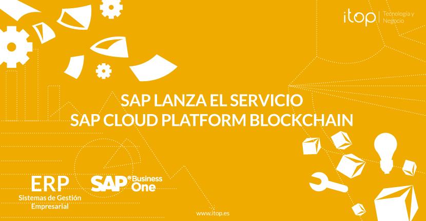 SAP lanza el servicio SAP Cloud Platform Blockchain